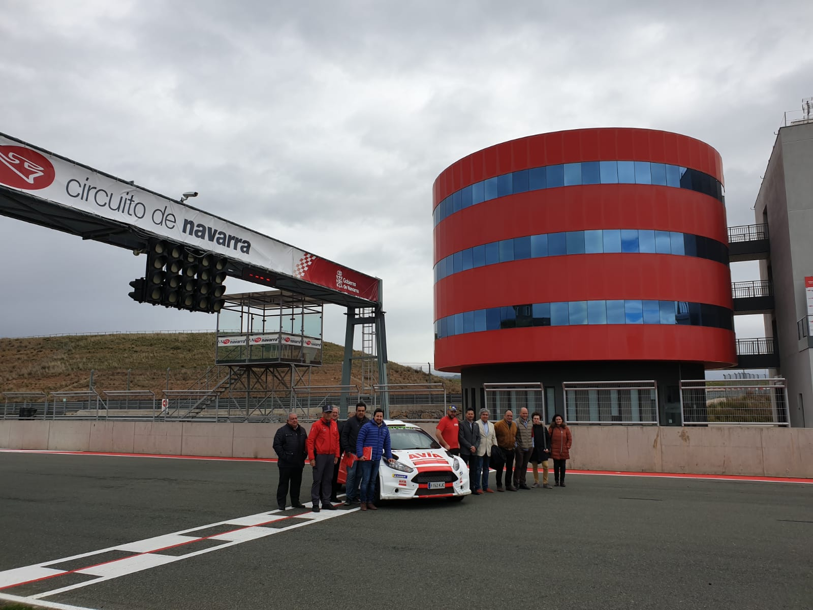 Circuito Los Arcos : Entrada libre al circuito de los arcos para el cuarto rally de