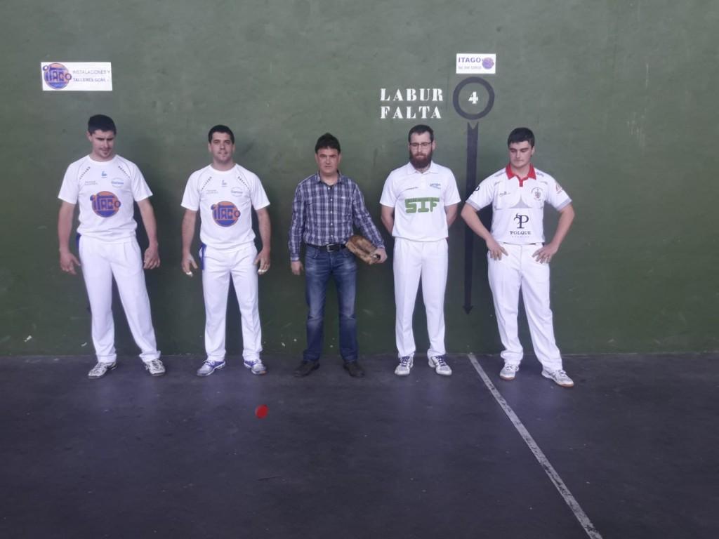 Pelota, Abárzuza-Larrión, 1, 23-4-19