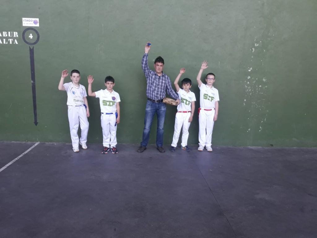 Pelota, Abárzuza-Larrión, 3, 23-4-19