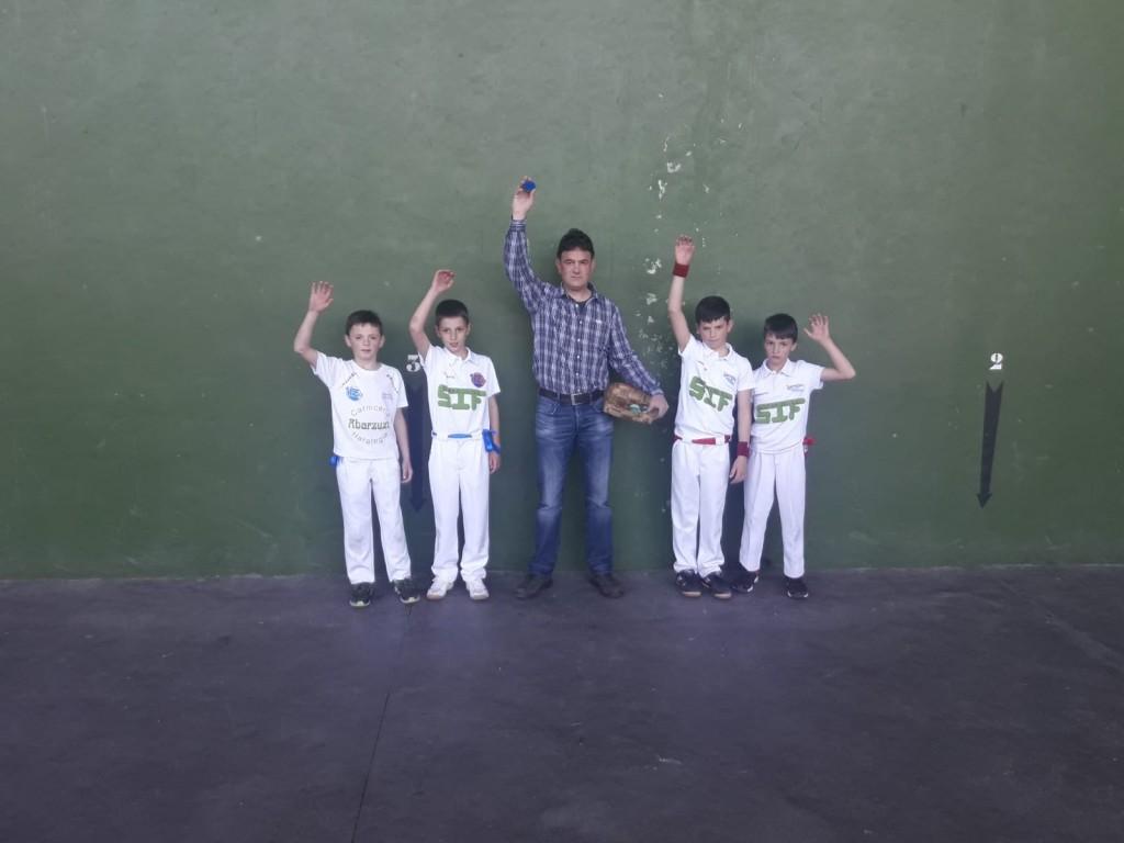 Pelota, Abárzuza-Larrión, 4, 23-4-19