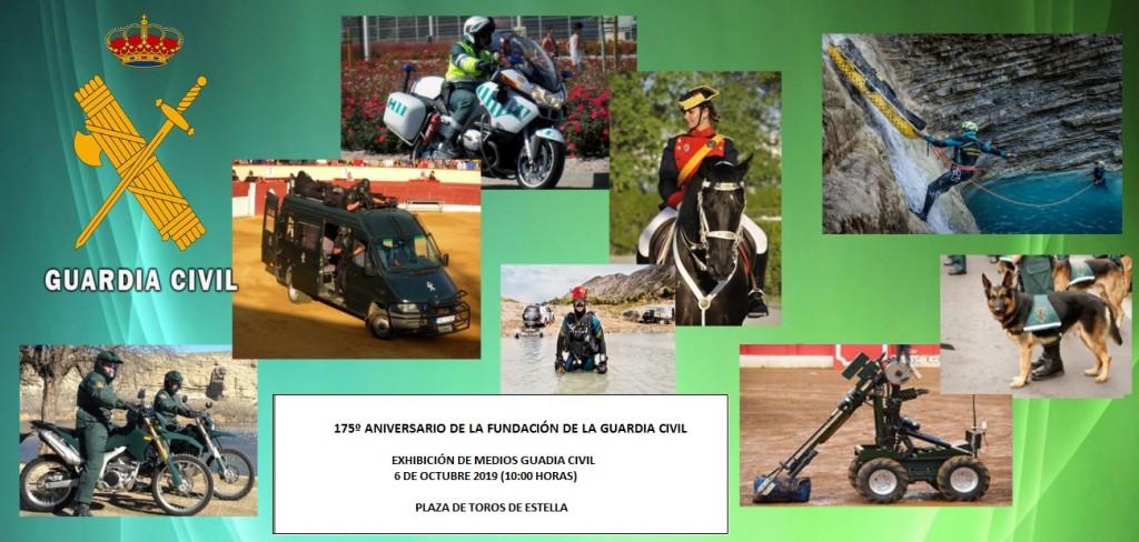 Guardia Civil, plaza toros, 5-10-19