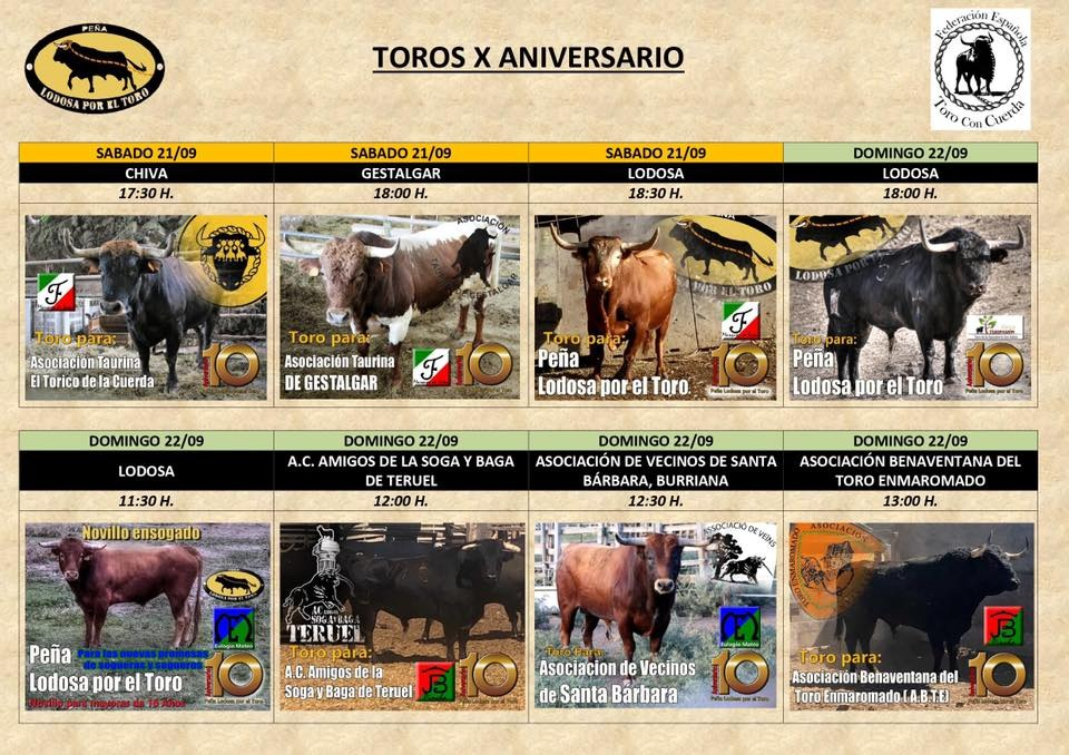 Lodosa, toros, 20-9-19